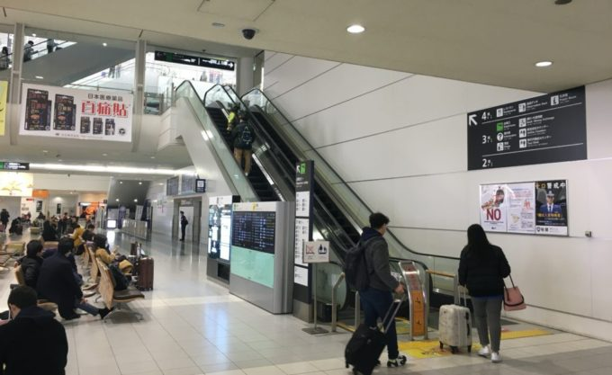 福岡空港国際線ターミナル・1階