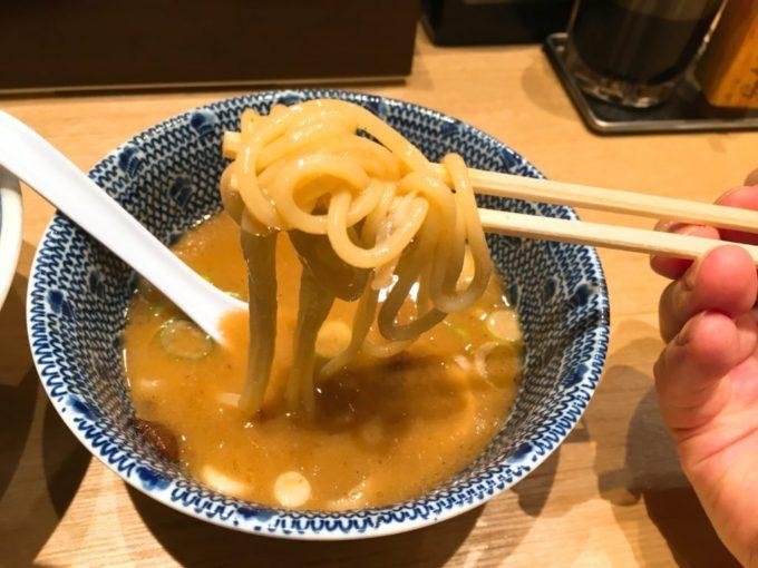 つじ田のつけ麺を実食