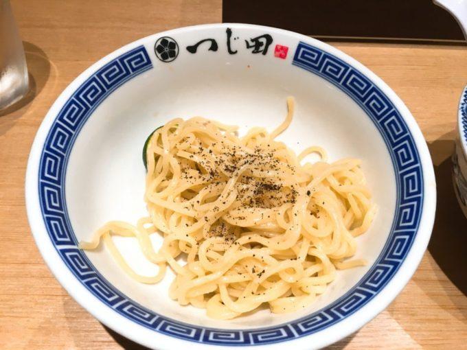 つじ田 つけ麺 黒七味